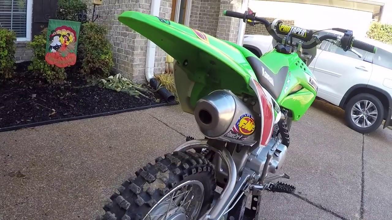 klx 110 fmf power core 4 big bike
