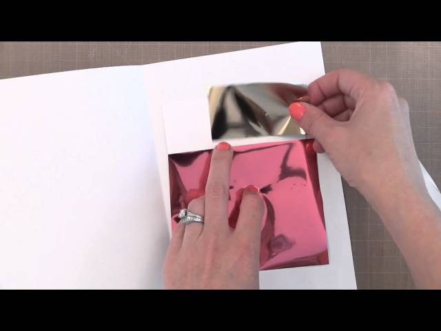 Foiling Stamped Images with Jennifer McGuire