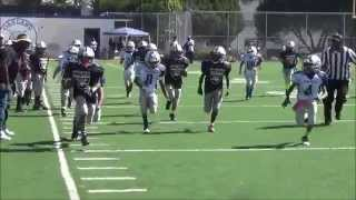 Oakland Jr Raiders 2014 highlights of Maine #2 And Kee #12 (Brothers)