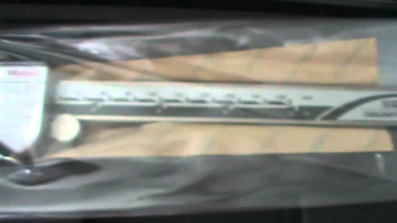 Штангенциркуль ABSOLUTE Digimatic IP67 от Mitutoyo - YouTube