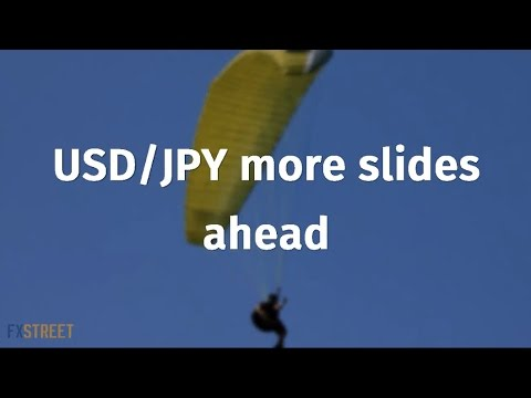 USD/JPY more slides ahead