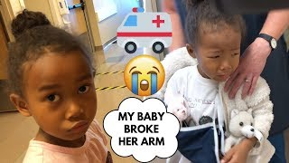 Dasomi Broke her arm 😭+ Ridiculous medical service | Yuri is a new kid in her class-Vlog ep. 177