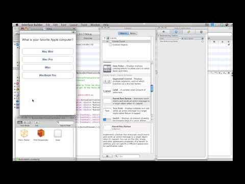 iPhone SDK: Creating Buttons and Adding Actions & Alert View