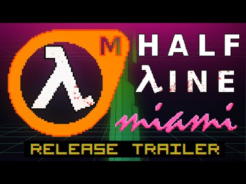 Half-Line Miami released for free A Hotline Miami - Half-Life 2 mash-up