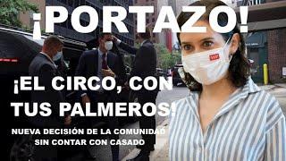"""¡PORTAZO DE AYUSO EN LA CARA DE """"SUPERMÁN"""" SÁNCHEZ!"""