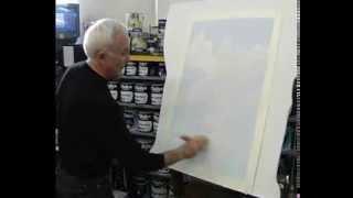 Ремонт. Как нарисовать небо.(В этом видео рассказывается как с помощью обычной краски можно декорировать поверхность потолка под небо...., 2014-02-10T19:31:55.000Z)