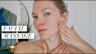 Lymphatic Drainage, Face Lifting Massage