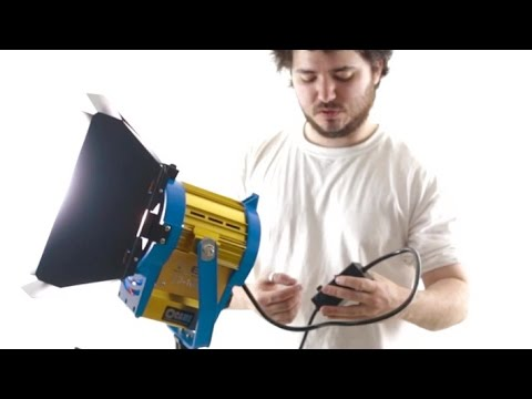Cheap Came-TV 100W / 1000W fresnel LED video light review