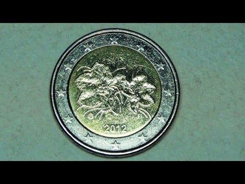 2 евро 2012 г. Финляндия - ягода морошка