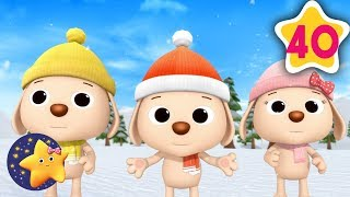 How To Count 3 Little Kittens and Puppies | Fun Learning with LittleBabyBum | NurseryRhymes for Kids