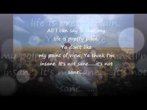 Blind Melon - No Rain with Lyrics