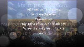 Blind Melon - No Rain with Lyrics