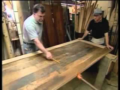 Staples Cabinet Makers - Old Workbench to Beautiful Table - YouTube