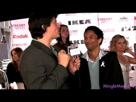 Craig Frank @ 2nd Annual Streamy Awards LIVE from the Red Carpet