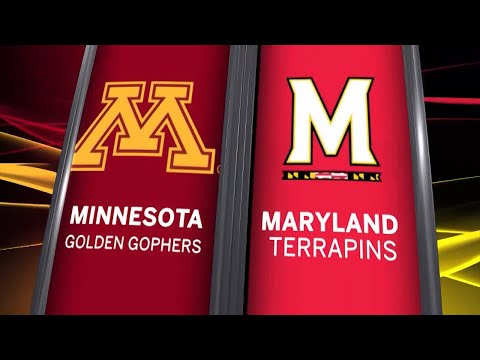 Big Ten Basketball Highlights: Minnesota at Maryland