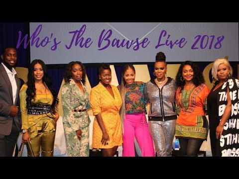 All Things Ashley Vlog: Who's The Bawse Live Experience 2018 !