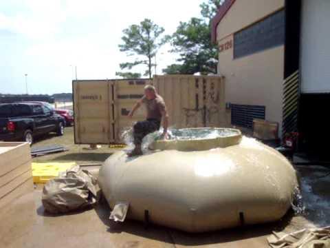 Wes Quade Jumps 3k water bladder