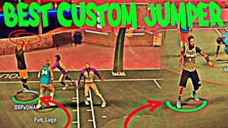 100% BEST CUSTOM JUMPSHOTS IN 2K!! HOW TO TURN YOUR PLAYMAKER INTO A SHARPSHOOTER!! GAMEPLAY!!