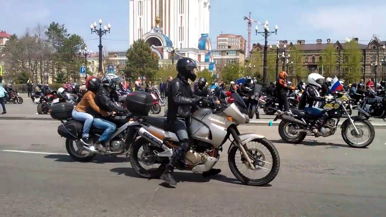 Открытие мото сезона 2016 Хабаровск YouTube