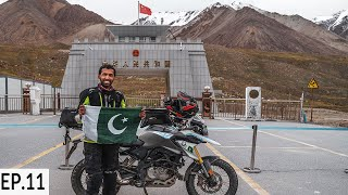 Khunjerab Pass Pakistan China Border S2. EP11 | Pakistan Motorcycle Tour