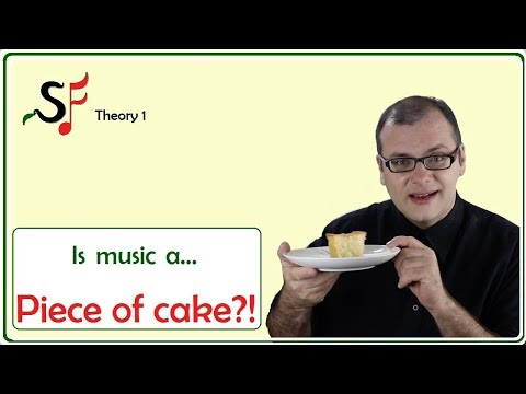 Piece of cake! Sound and silence in music.