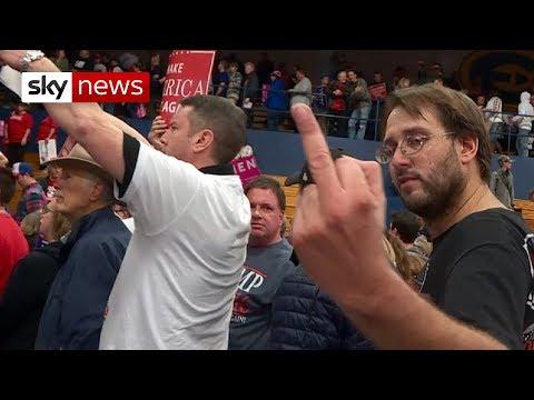 Trump fans' anger