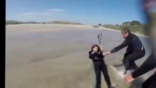Go Go Power Kite - Funny Kiting Accident