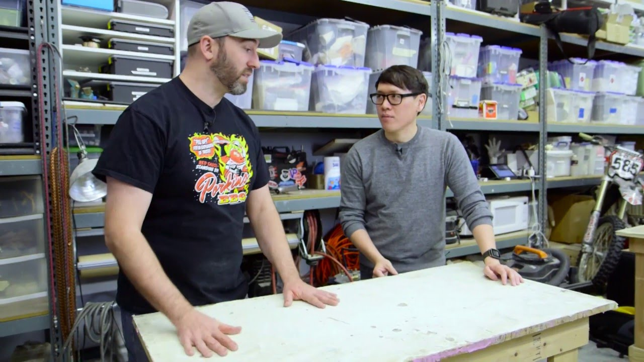 Shop Tips: Covering Your Work Tables   YouTube