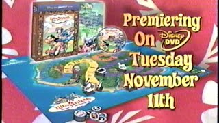 Lilo & Stitch's Island of Adventures (2003) Promo (VHS Capture)