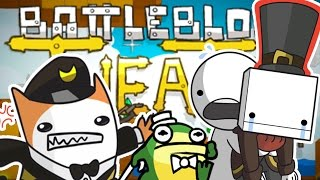 I AM SO CONFUSED (Tewtiy Teaches Me To Play Random Games... Help Plz) - BATTLEBLOCK THEATER