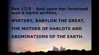 Bible says Mystery Babylon is....