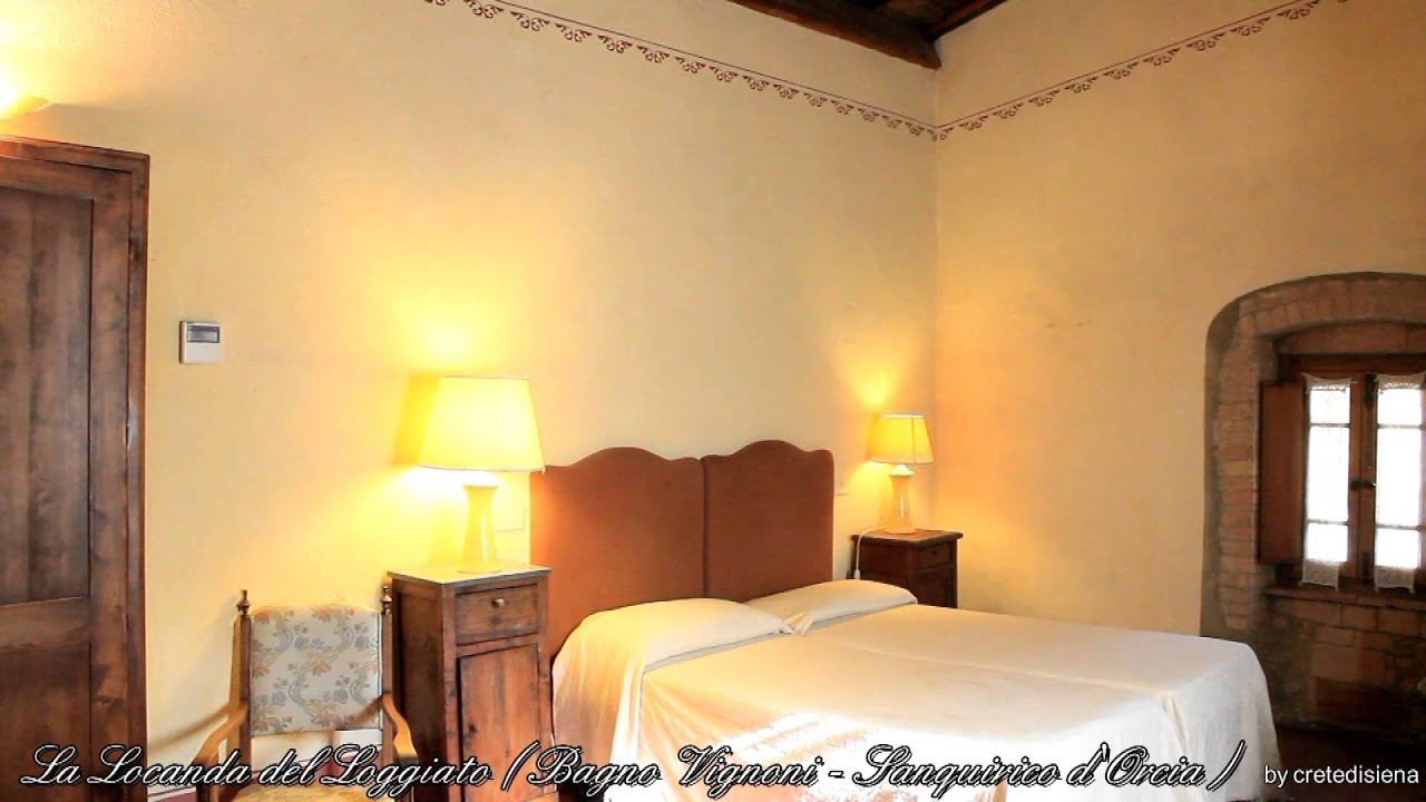 Il Loggiato Bed and Breakfast Dimora Charme Bagno Vignoni - YouTube