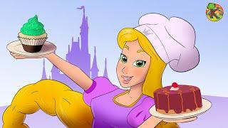 ربانزل طاهية المعجنات | الحلقة 3 ( Rapunzel )  مغامرات ربانزل KONDOSAN قصة رسوم متحركة  فيلم كرتون