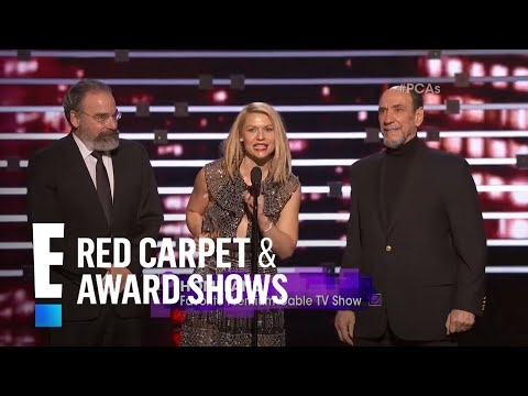 The People's Choice for Favorite Premium Cable TV Show is Homeland | E! People's Choice Awards