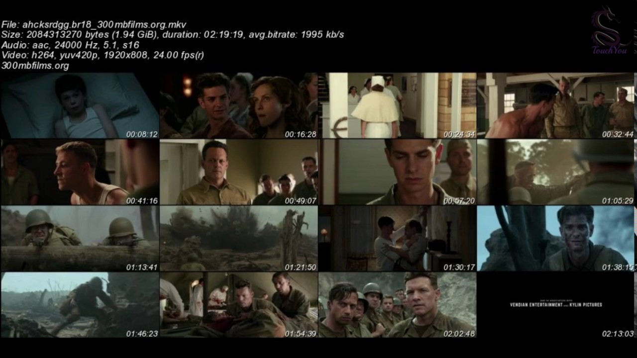 hacksaw ridge full movie free download utorrent