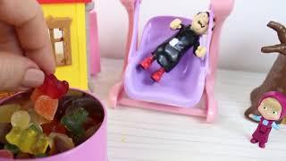 Masha Bebek Gargamele Bakıyor Eğlenceli Videolar