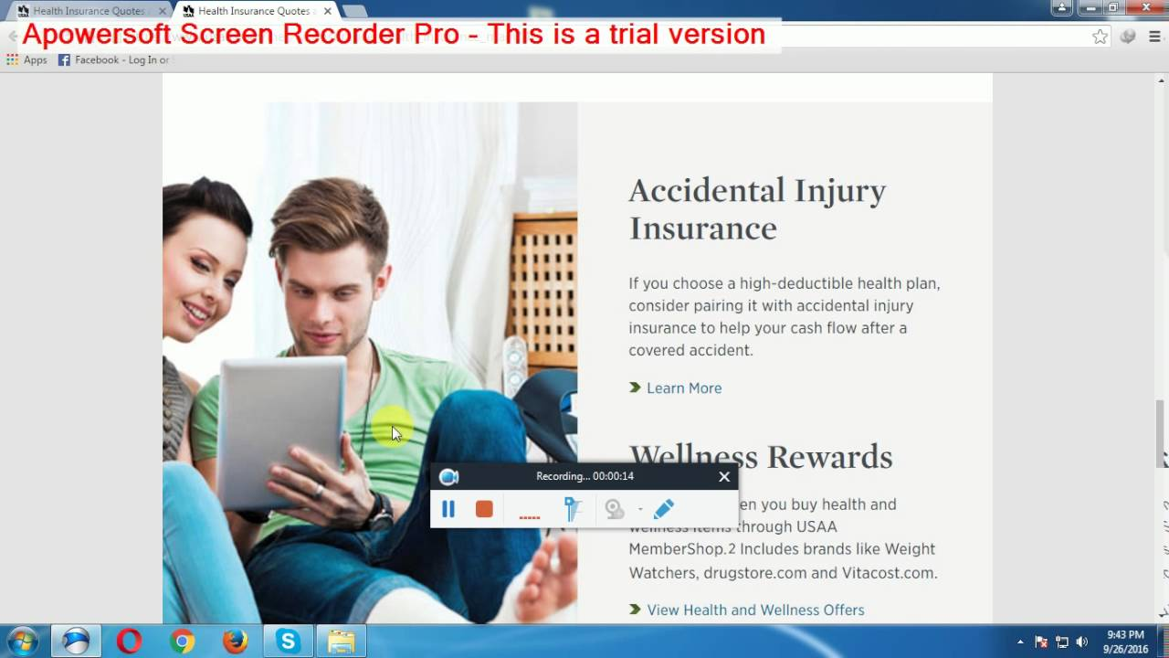Usaa Insurance Quote Health Insurance Quotes And Plans  Usaa  Youtube
