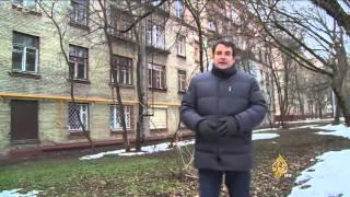 تاريخ روسيا السياسي يصبغ عمرانها