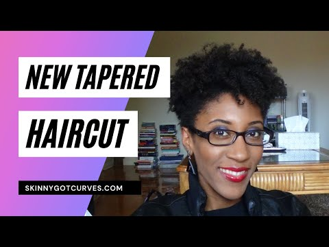 First Glance: My New Tapered Natural Hair Cut (4b / 4c ...