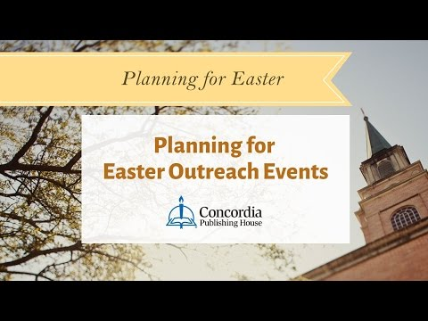 Planning for Easter Outreach Events |  Live Panel Discussion