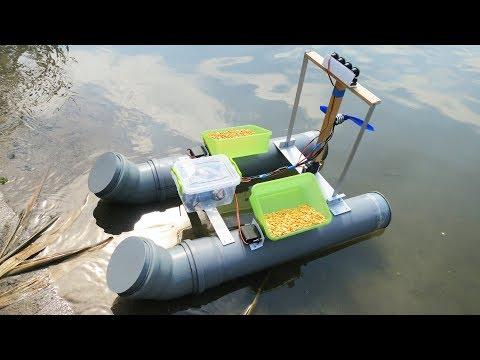 Самодельный катер для рыбалки своими руками