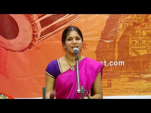 Carnatic Music Concert by Pooja Aravind | tutelage of tiruvarur vaidhyanathan | TTVVTrust 2017