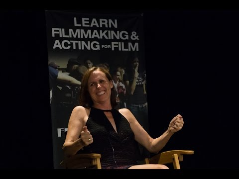 Discussion with Actress Molly Shannon at New York Film Academy