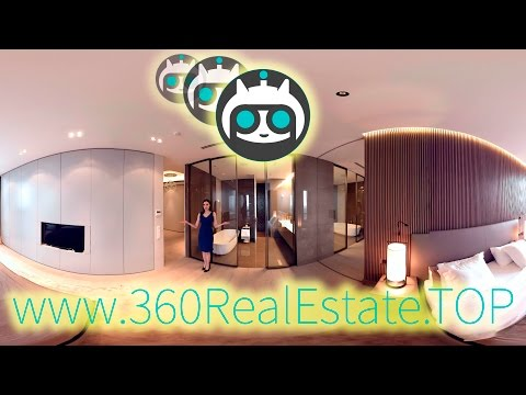 360 VIDEO VR Moscow Real Estate Luxury Flat Property (360vr, vr360)