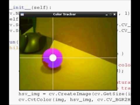 Raspberry Pi + OpenCV + PythonでColor Ball Tracking(1)