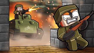 Survive a WORLD WAR in Minecraft! (Blockfront Mod Pack)