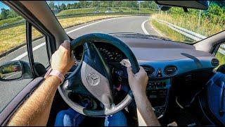 2003 Mercedes A Class W168 [1.6 102HP]   POV Test Drive #817 Joe Black