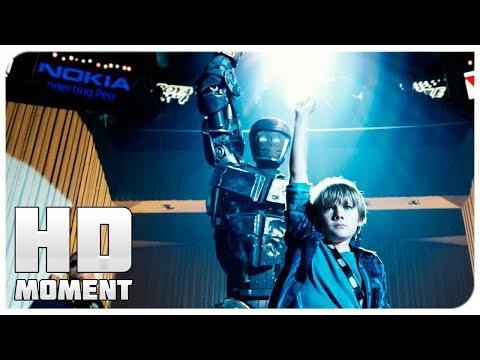 Танец Атома и Макса - Живая сталь (2011) - Момент из фильма