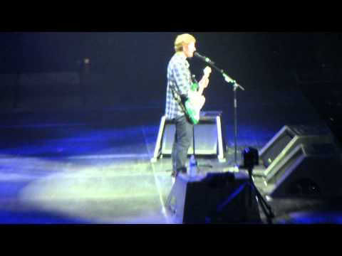 Thinking Out Loud - Ed Sheeran - Wells Fargo Arena - Des Moines IA - June 9, 2015