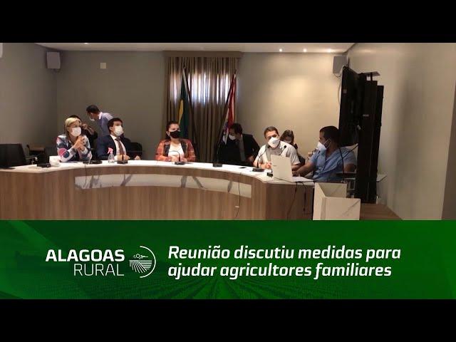 Reunião discutiu medidas para ajudar agricultores familiares